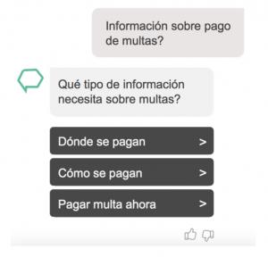 chatbot multas